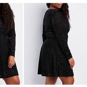 NWT Black Sparkle Dress